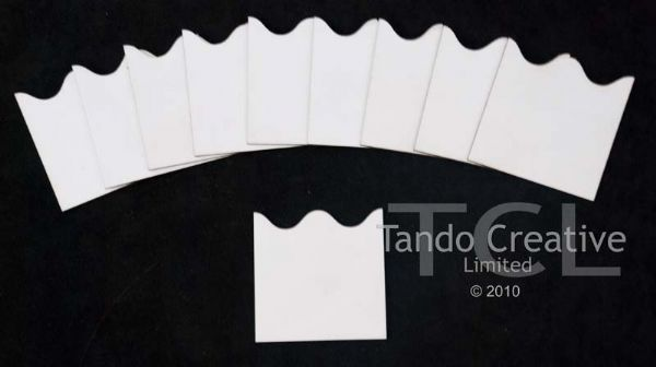 Tando Creative Chipboard Inchies - Wavy